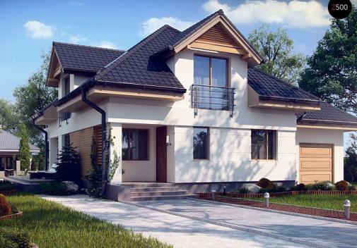 Проект дома Z284 P