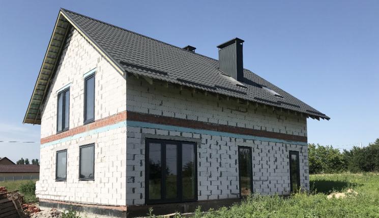 Мансардный дом в г. Днепр