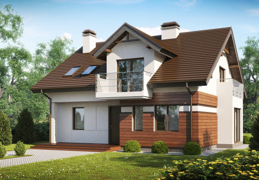 Проект дома Z28 v2