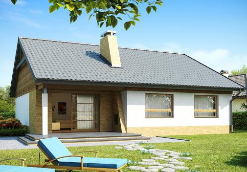 Проекты компактных домов до 150 м2 Z41