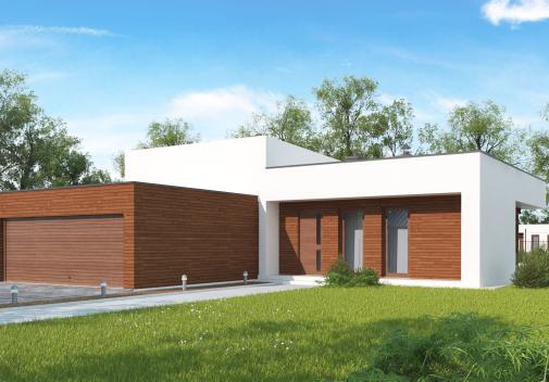 Проект дома Zx35 GL2 v2