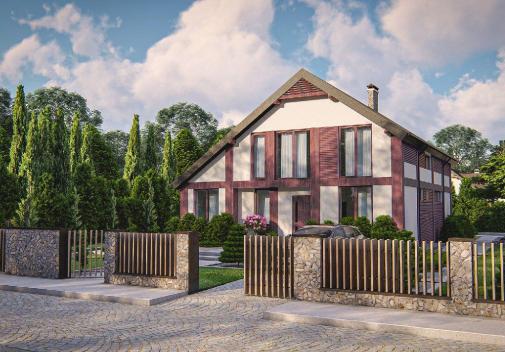 Проект дома Zz50