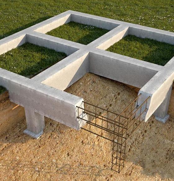 Ленточный фундамент для дома: особенности, этапы обустройства