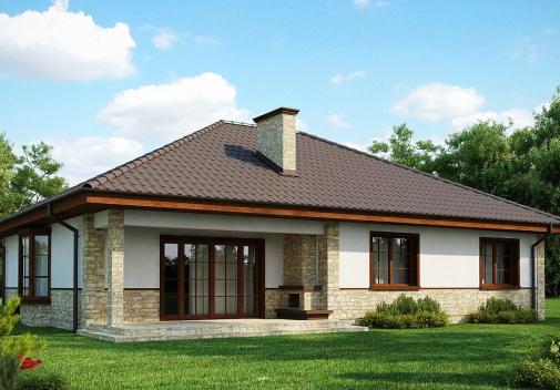 Проект дома для одной семьи Z10 S