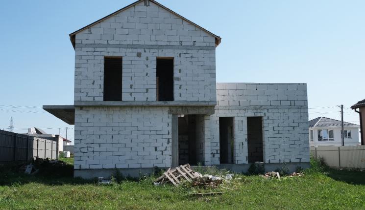 Современный дом мансардного типа