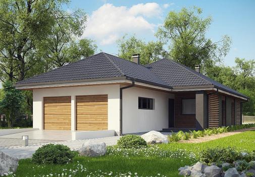 Проект одноэтажного дома Z327