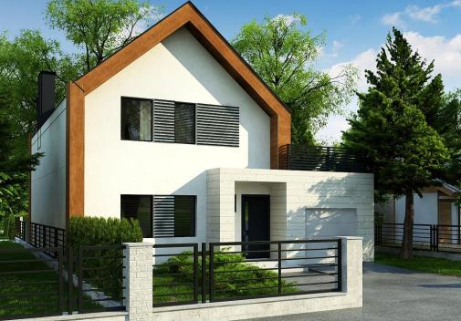 Проект дома Z424
