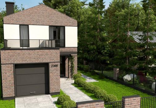 Проект дома Z398