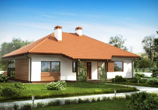 Проект дома Z185