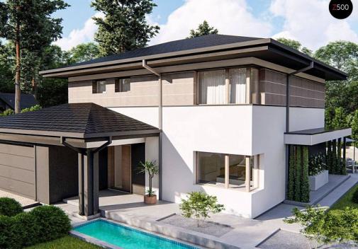 Проект дома Z426 V1