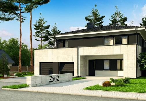Проект дома Zx62 A