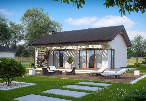 Проект дома Z254