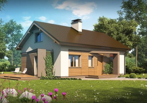 Проект дома Z255 a