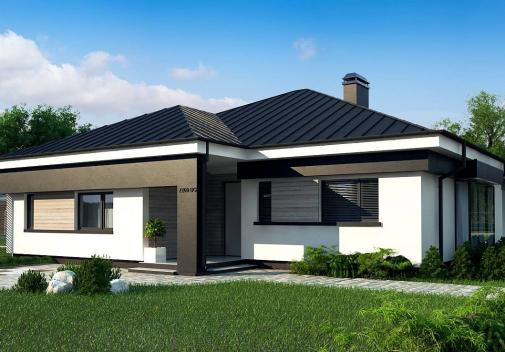 Проект дома для одной семьи Z200 BG v1