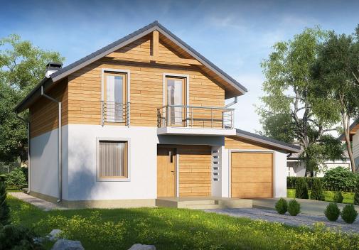 Проект дома Z38 D GP