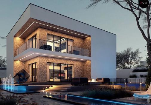Проект дома Zx82 GL+