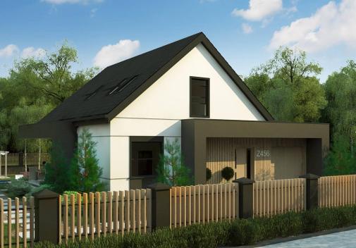Проект дома Z456