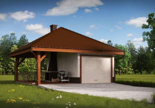Проект дома Zg14