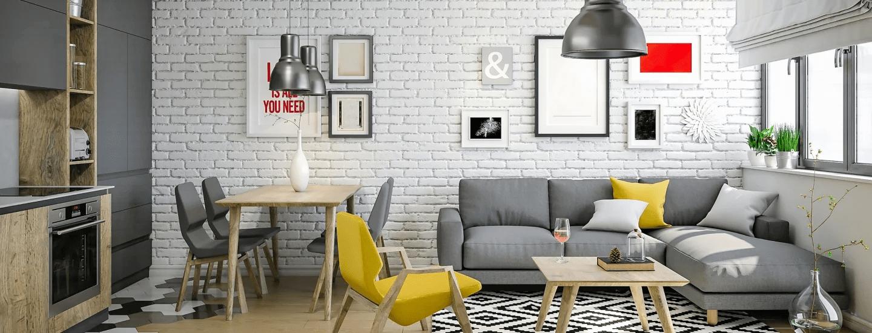 дизайн інтер'єру сучасної квартири
