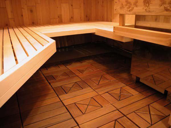 Підлога для лазні
