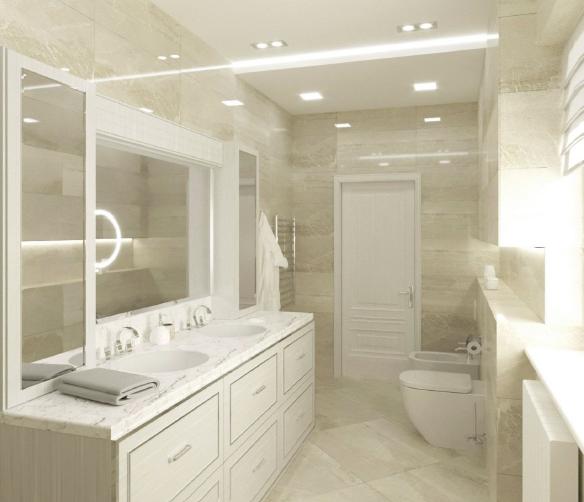 дизайн інтер'єрів в туалеті