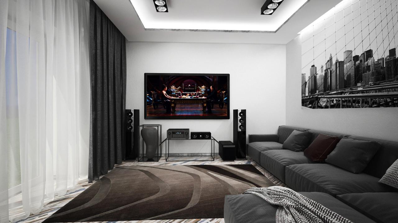 Дизайн інтер'єрів в вітальні