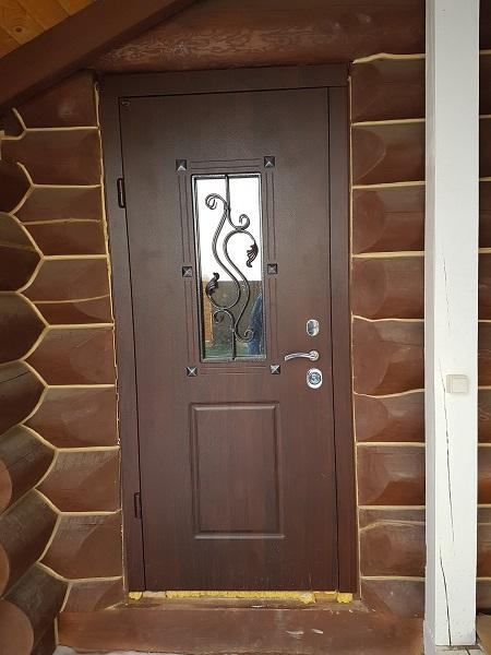 Будівництво сауни і лазні - вхідні двері